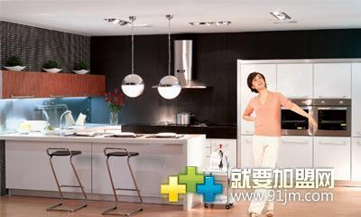 欧派厨柜加盟案例图片