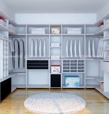 金柜整体衣柜加盟实例图片