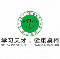 学习天才儿童书桌椅