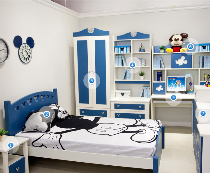酷漫居儿童家具加盟图片