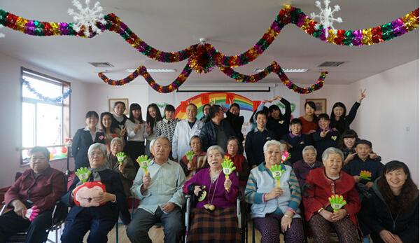 彩虹老人院加盟图片