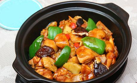 榮福居黃燜雞米飯