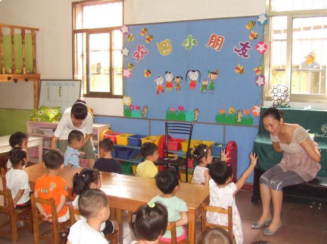 华夏幼儿园加盟图片