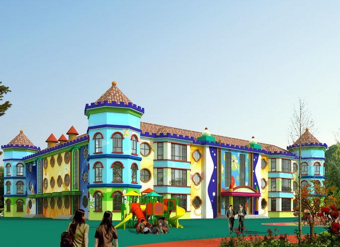 三色幼儿园加盟图片