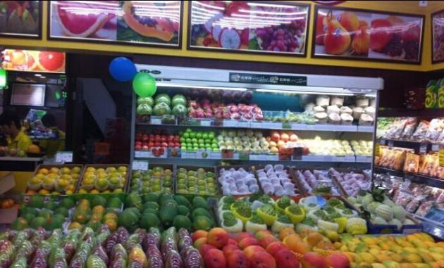 百果园水果店加盟图片 加盟店装修图