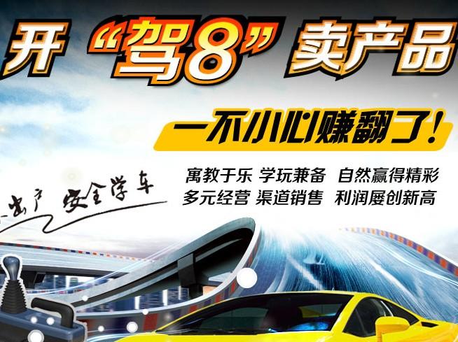 驾8汽车驾驶模拟器