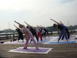 哈达瑜伽会所加盟图片