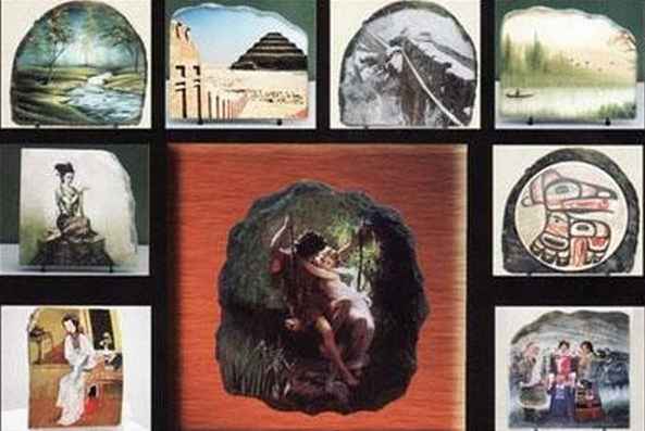 梦工坊石头画加盟图片