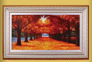 爵艺瓷画加盟图片