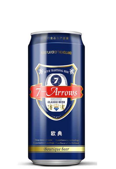 荷兰七箭啤酒加盟图片