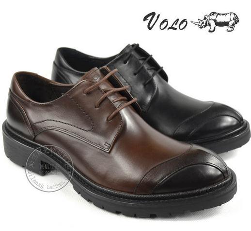 volo犀牛皮鞋
