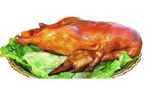 王府脆皮烤鸭店中餐加盟图片_加盟店装修图_就要加盟网
