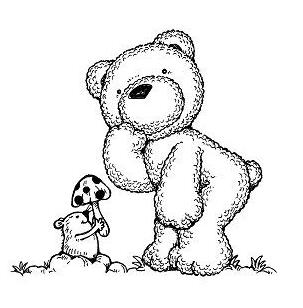 简笔熊图片大全可爱