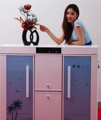 三川智能电子鞋柜加盟图片