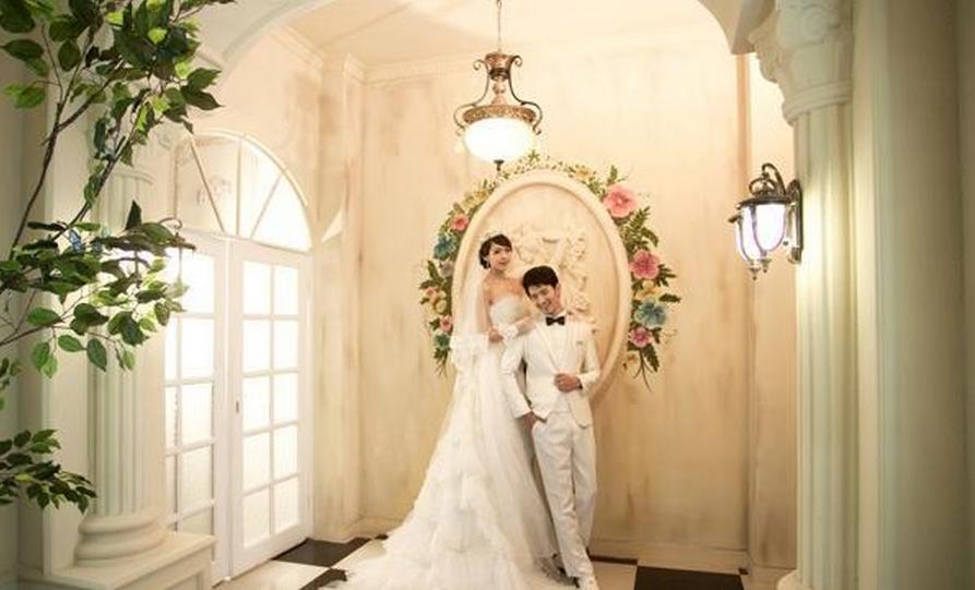 黄晓明欧式婚纱照图片大全图片