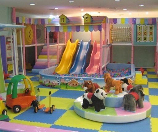 室内儿童乐园加盟费 图片合集