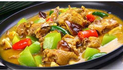 清真黃燜雞米飯