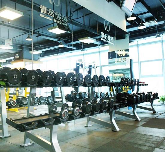 青鸟健身俱乐部加盟图片