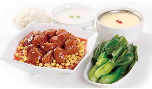 中式快餐加盟哪个好图片