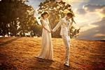 名人婚纱摄影加盟图片