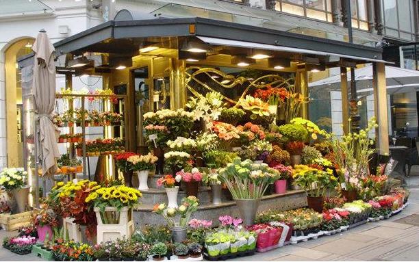 十几平米花店装修图片