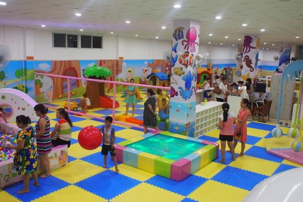 室内儿童乐园加盟投资多少钱