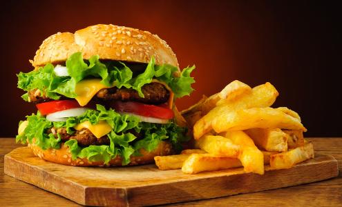 汉堡包快餐加盟图片_加盟店装修图_就要加盟网