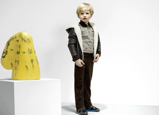童装手绘效果图男生