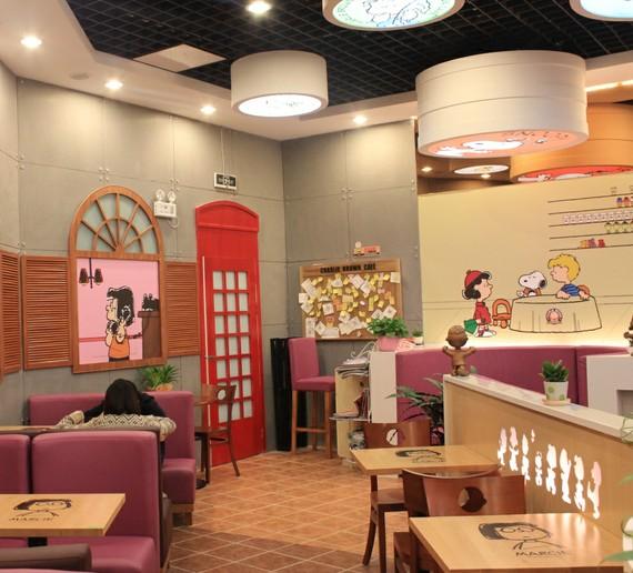 动漫主题咖啡厅