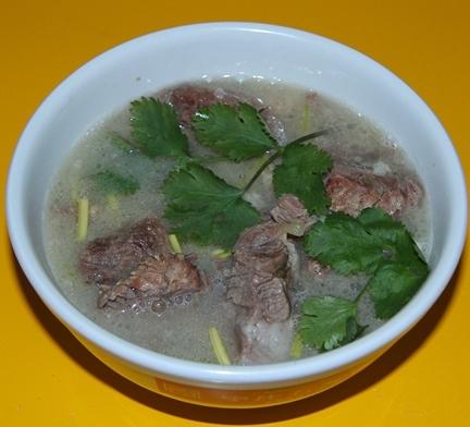石灰窯羊肉湯