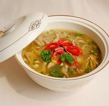 清真羊肉汤