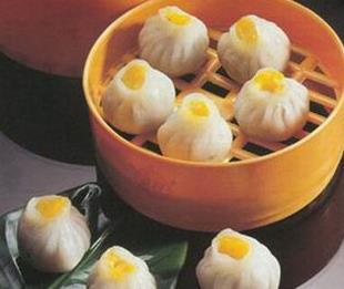 贡品蟹黄汤包