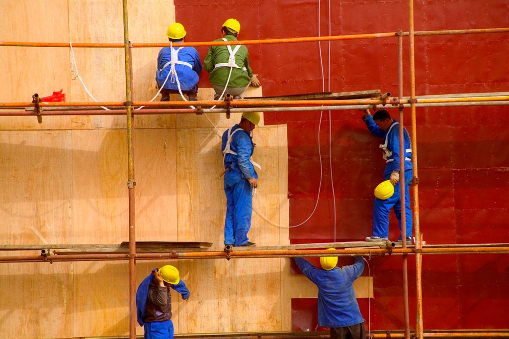 建筑脚手架加盟图片