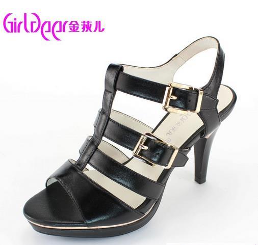 金狄儿女鞋