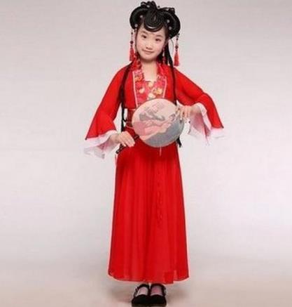 儿童服装画设计图展示