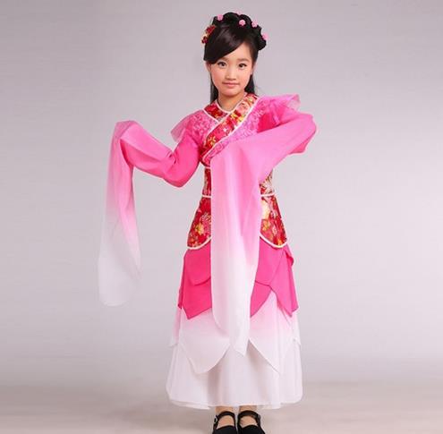古代儿童服装_儿童古代服装_女