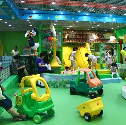 小玩家儿童乐园诚邀加盟