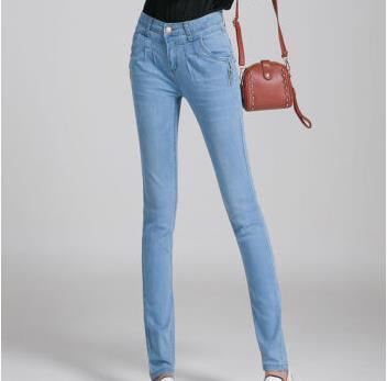 依薇儿牛仔裤
