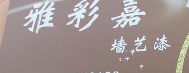 雅彩嘉壁纸漆