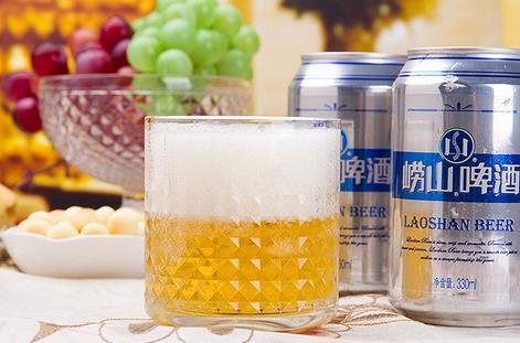 崂山啤酒加盟图片