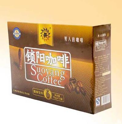锁阳咖啡加盟图片