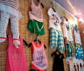 5元童装店