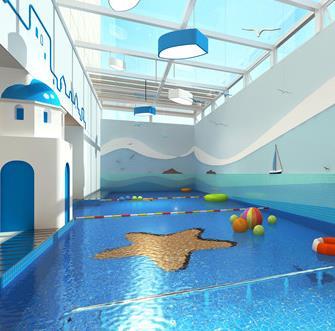 奥申亲子游泳馆加盟图片