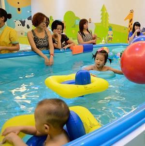 奥申宝宝游泳馆加盟图片