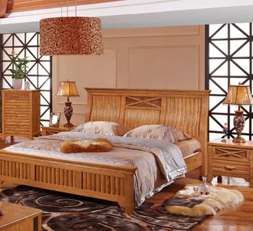 竹板材家具加盟图片