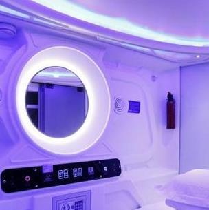 宇宙人太空舱宾馆加盟图片