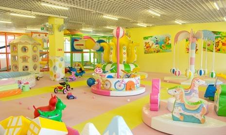 加盟室内儿童游乐园要多少钱