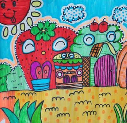 柚艺家少儿美术教育加盟图片