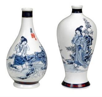 景德镇陶瓷酒瓶加盟图片
