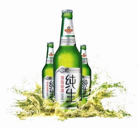 青岛纯生啤酒加盟图片